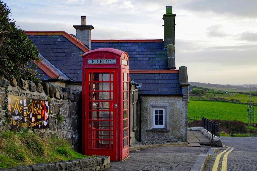 postbox in rural UK